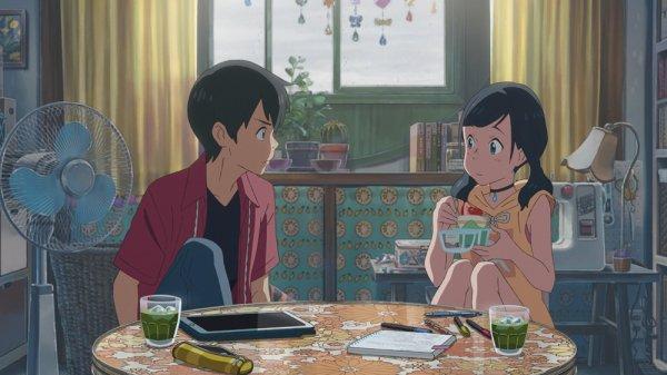 Image Les enfants du temps Hodaka et Hina