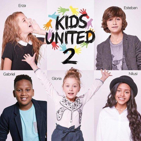 """Paroles de """"Les liens de l'amitié"""" + image Kids United"""
