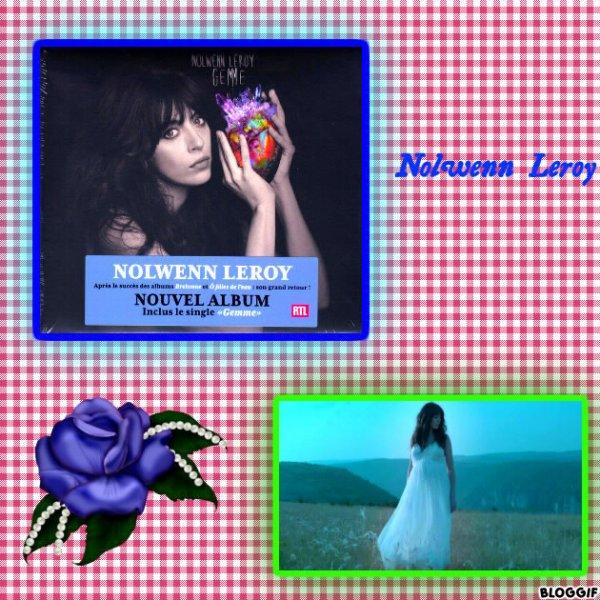 """Paroles de """"Mon ange"""" + montage Bloggif Nolwenn Leroy créé par moi"""