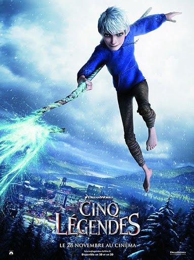 Image Les cinq légendes Jack Frost