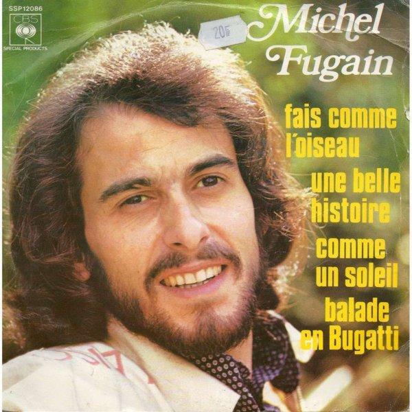 """Paroles de """"Je n'aurai pas le temps"""" + image Michel Fugain"""