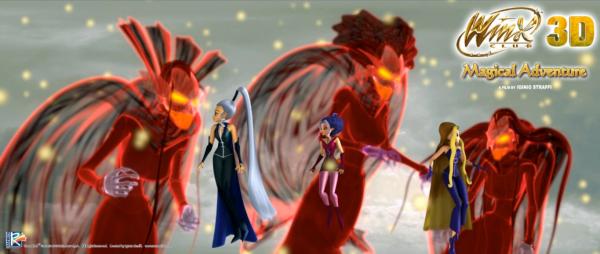 Image Winx Club Darcy,Stormy et Icy en sorcières et les sorcières ancestrales 3d