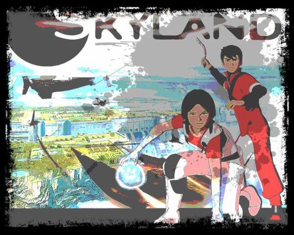Image retouche Skyland Mahad et Lena