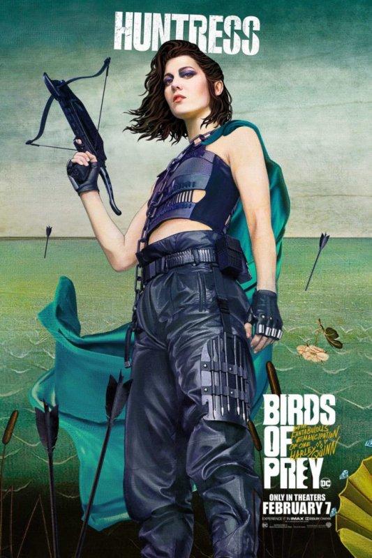 Image Birds of Prey et la fantabuleuse histoire de Harley Quinn Huntress