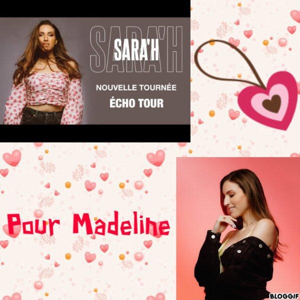 Montage Sara'h créé par moi pour Madeline
