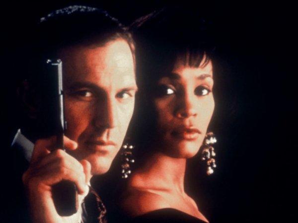 Image Bodyguard Frank Farmer et Rachel Marron