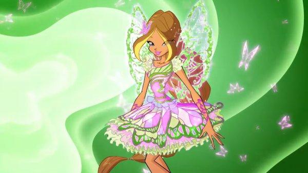 Image Winx Club Flora en Butterflix