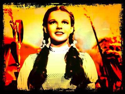 Image retouche Le magicien d'Oz Dorothée
