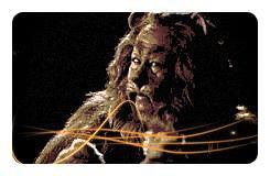 Image retouche Le magicien d'Oz Le lion peureux
