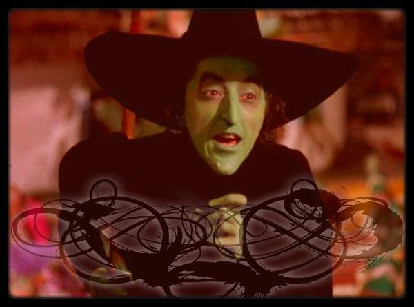 Image retouche Le magicien d'Oz La sorcière de l'ouest