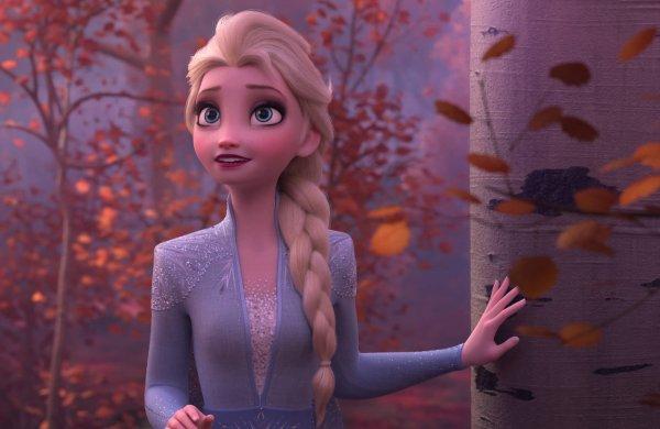"""Paroles de """"Dans un autre monde"""" + image La reine des neiges 2 Elsa"""