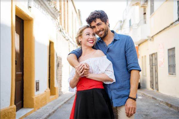 Image Coup de foudre en Andalousie Claire et Alvaro