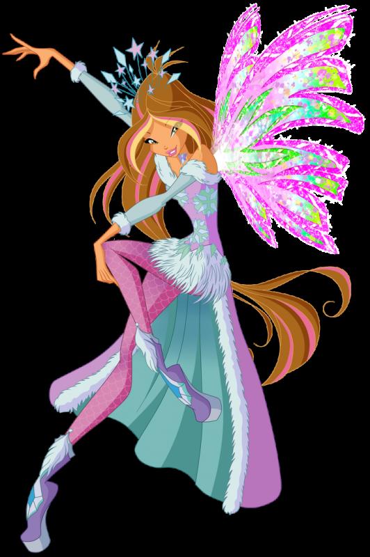 Image Winx Club Flora en Crystal Sirenix