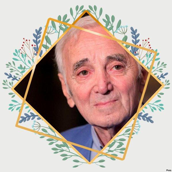 """Paroles de """"Hier encore"""" + montage Pixiz Charles Aznavour créé par moi"""