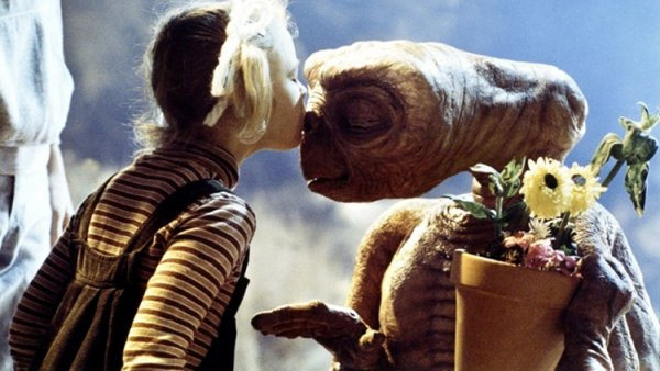 Image E.T l'extra-terrestre E.T et Gertie