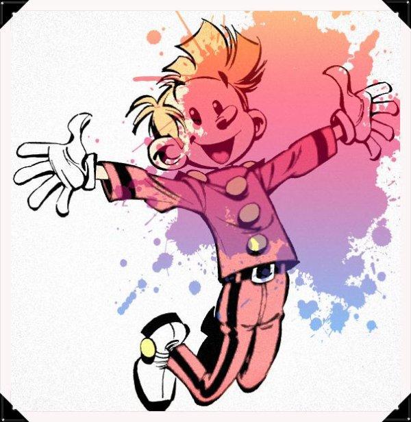Image retouche Spirou et Fantasio Spirou