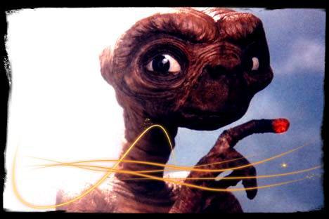 Image retouche E.T l'extra-terrestre E.T