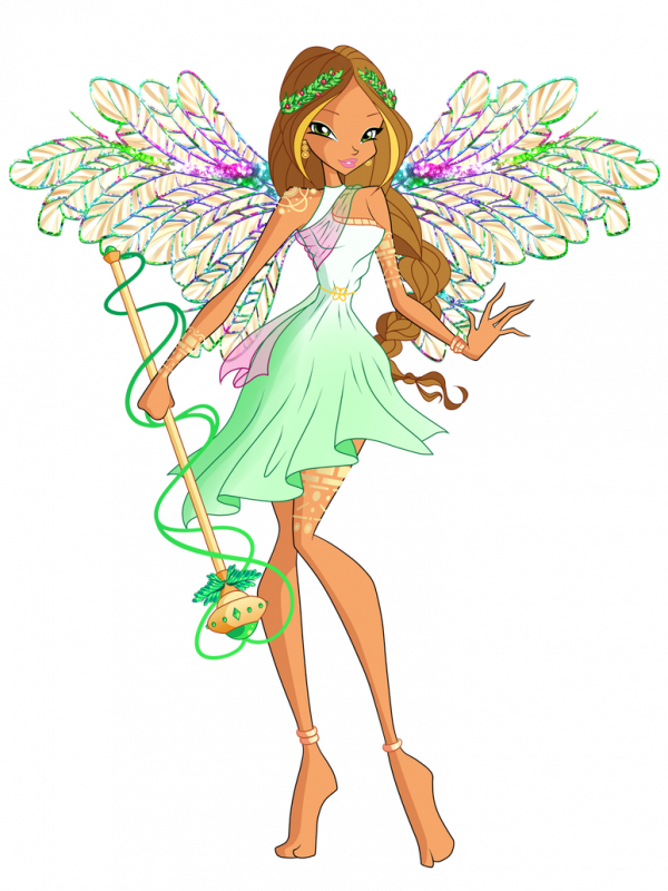 Image Winx Club Flora en Divinix