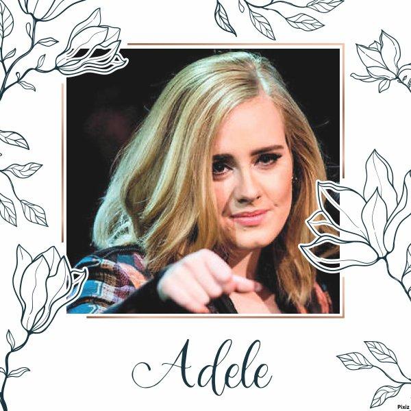 """Paroles de """"Someone Like You"""" + montage Adele créé par moi"""