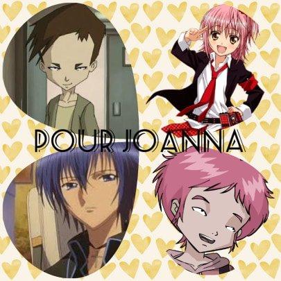 Montage Code Lyoko Aelita et Ulrich et Shugo Chara Amu et Ikuto créé par Alex pour Joanna