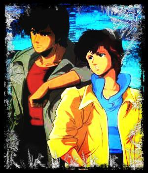 Image retouche Nicky Larson et Laura