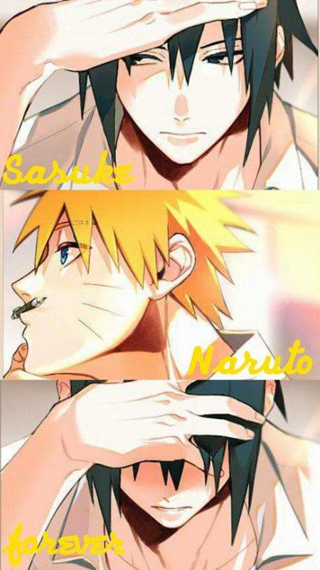 Montage Naruto et Sasuke Sasuke Naruto forever créé par xXx-gajeel-x-levy-26-xXx