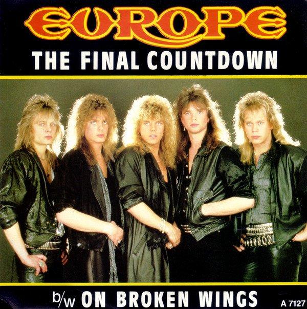 """Paroles de """"The Final Countdown"""" + image Europe"""