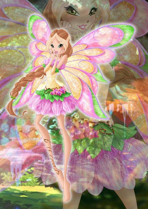 Image Winx Club Flora en Livix