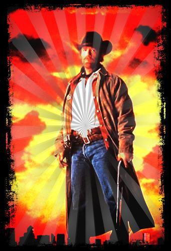 Image retouche Walker,Texas Ranger Cordell Walker