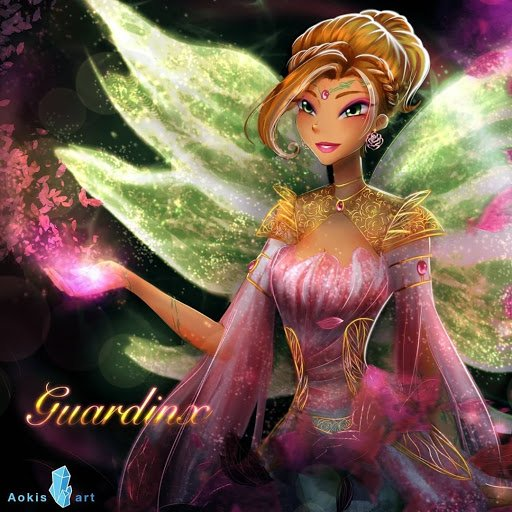 Image Winx Club Flora en Guardinx