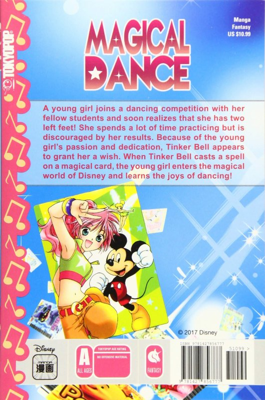 Image Magical Dance Rin,Mickey et Clochette