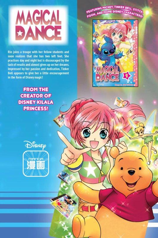 Image Magical Dance Rin,Winnie,Stitch et Clochette