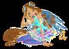 Image Winx Club Flora en Wonderix