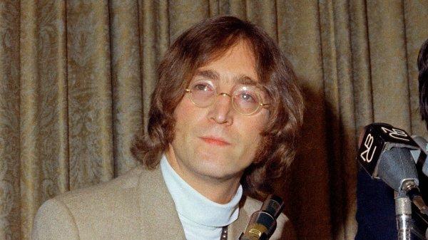 """Paroles de """"Imagine"""" + image John Lennon"""