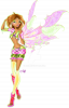 Image Winx Club Flora en Varsitix