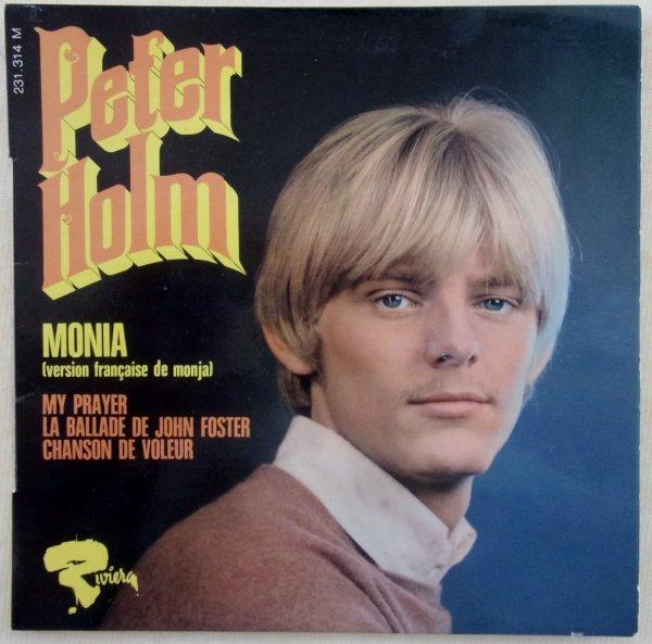 """Paroles de """"Monia"""" + image Peter Holm"""
