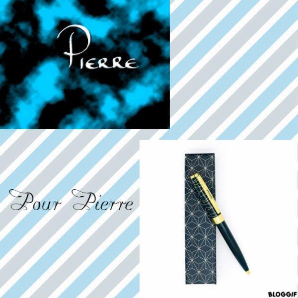 Montage le prénom de Pierre créé par moi pour Pierre
