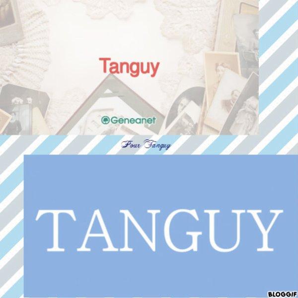 Montage le prénom de Tanguy créé par moi pour Tanguy