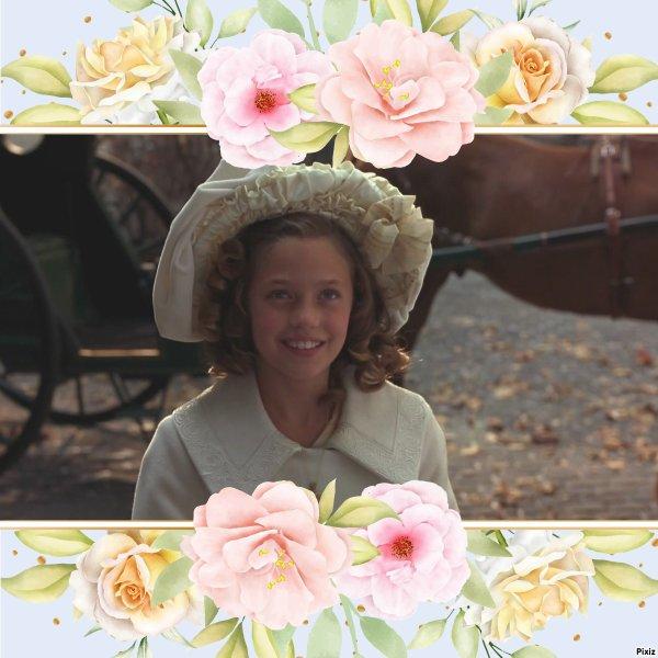 Montage Pixiz La petite princesse Sara créé par moi