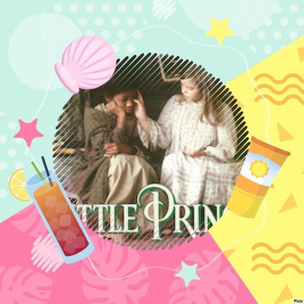 Montage La petite princesse Sara et Becky créé par moi