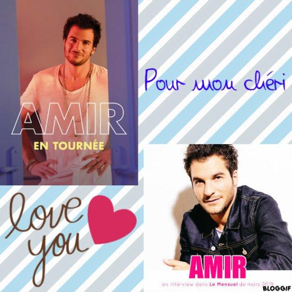 Montage Amir créé par moi pour mon chéri
