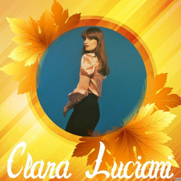 """Paroles de """"Le reste"""" + montage Clara Luciani créé par moi"""
