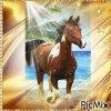 Giff Picmix Un cheval