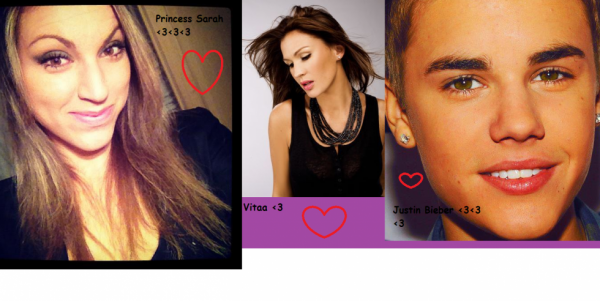 Vitaa ♥♥ JUSTIN BIEBER & Princess Sarah