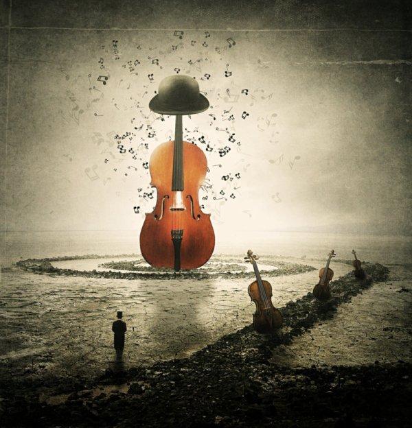 La musique, rien d'autre qu'un contact direct pour la savourer.