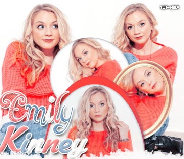 ♦ ♦ ♦ Actrice:Emily Kinney