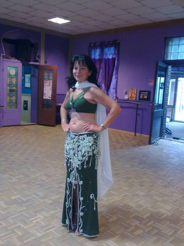 Mimi au cour de danse oriental