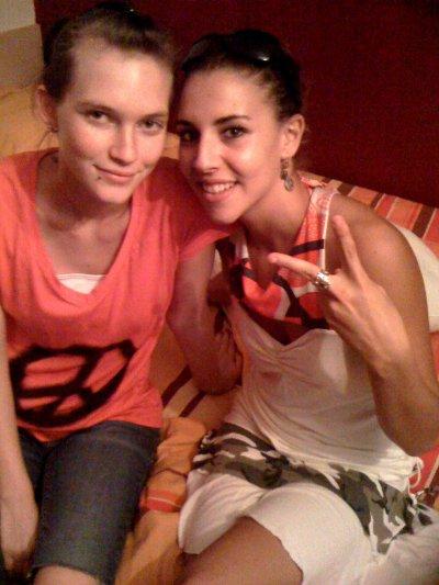 Amélie & Justine c'est des copines! hihi