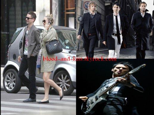 Matt Bellamy, mariage?