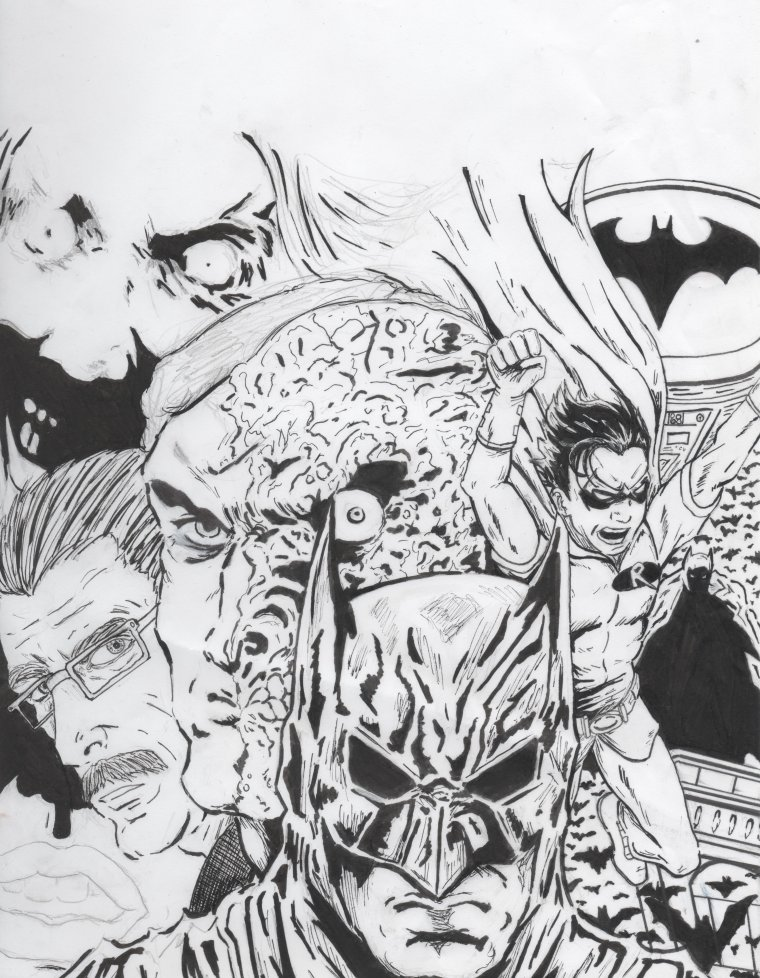 Articles de drawmeadraw tagg s dessin batman dessiner - Dessin de batman ...